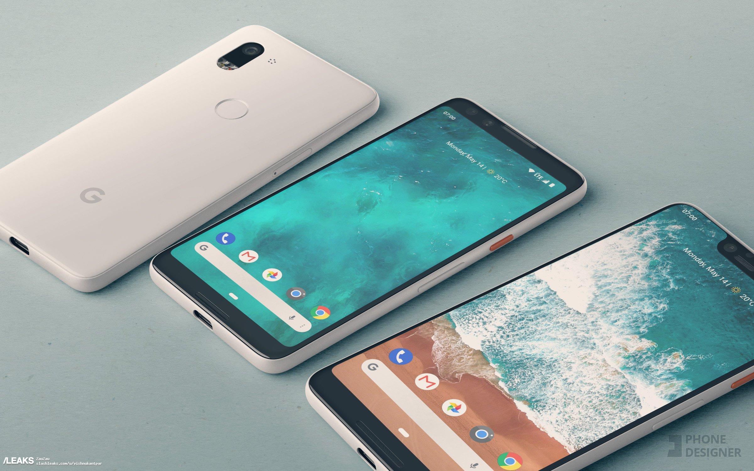 img Google Pixel 3XL Rendor