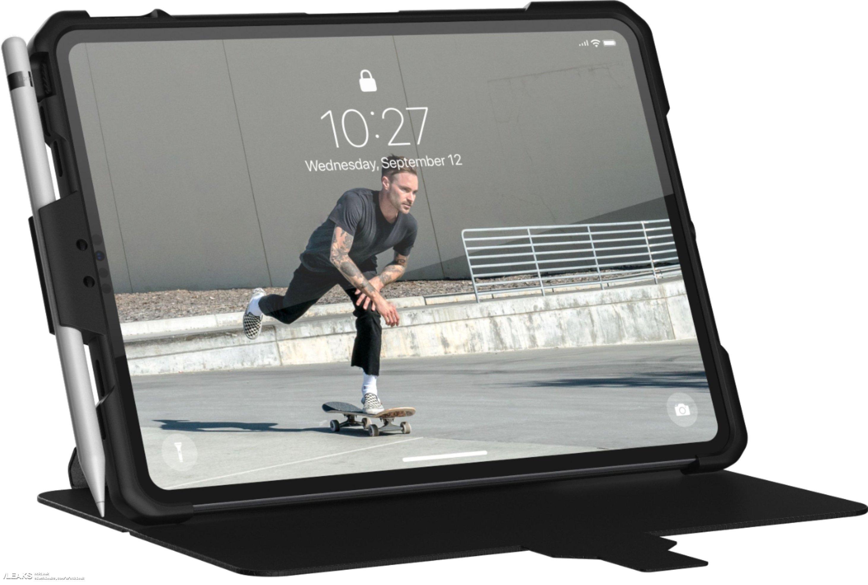img iPad Pro 2018 leaked by Evleaks