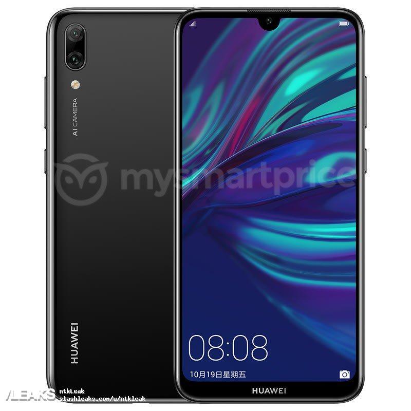 img Huawei Y7 Prime 2019 (Enjoy 9) render leak