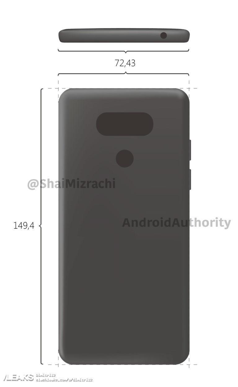 img LG G6 diagram leaked