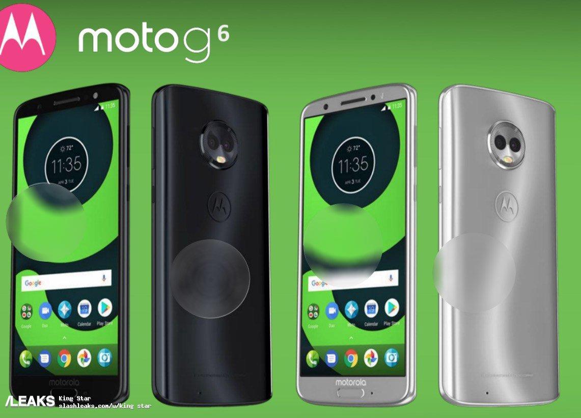 img Moto G6 specs and renders leaked