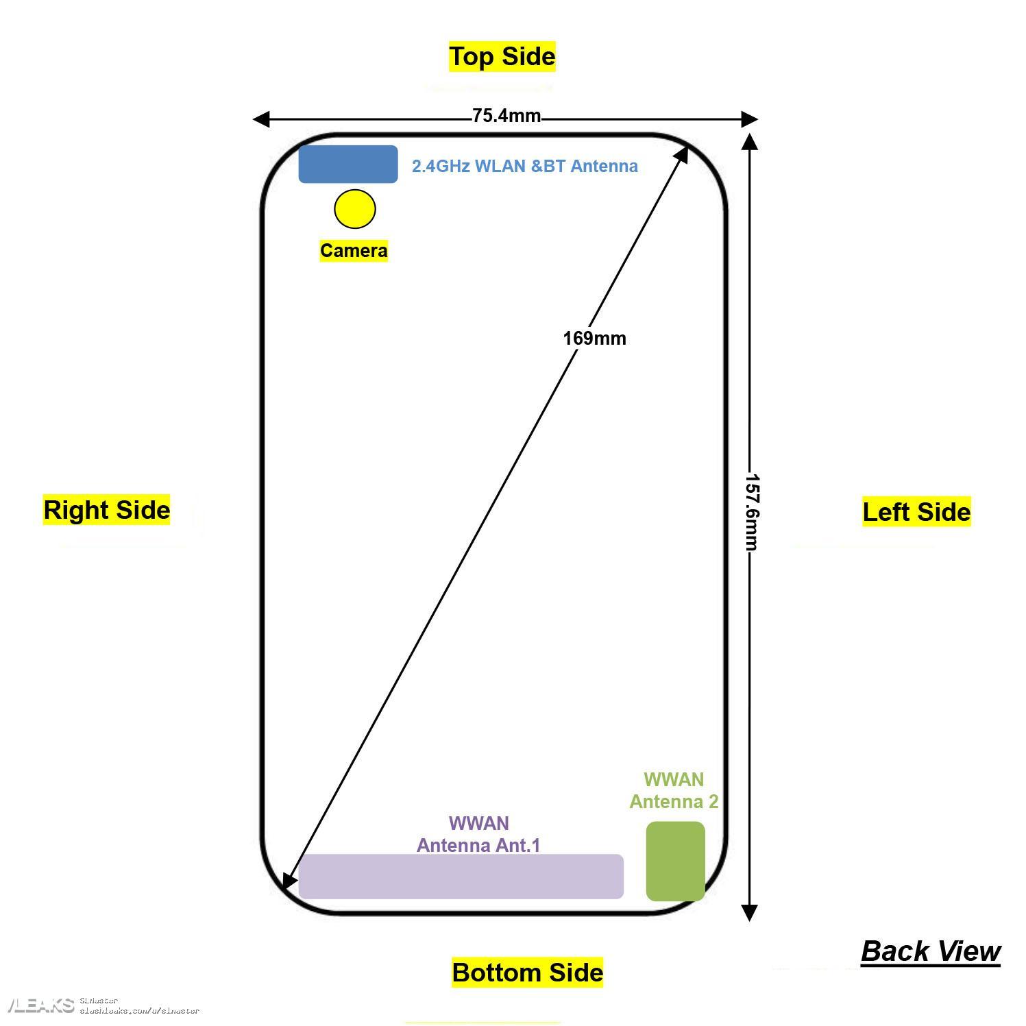 img Moto G8 Play XT2015-2, XT2016-1, XT2016-2 FCC Schematics and Specs Leak