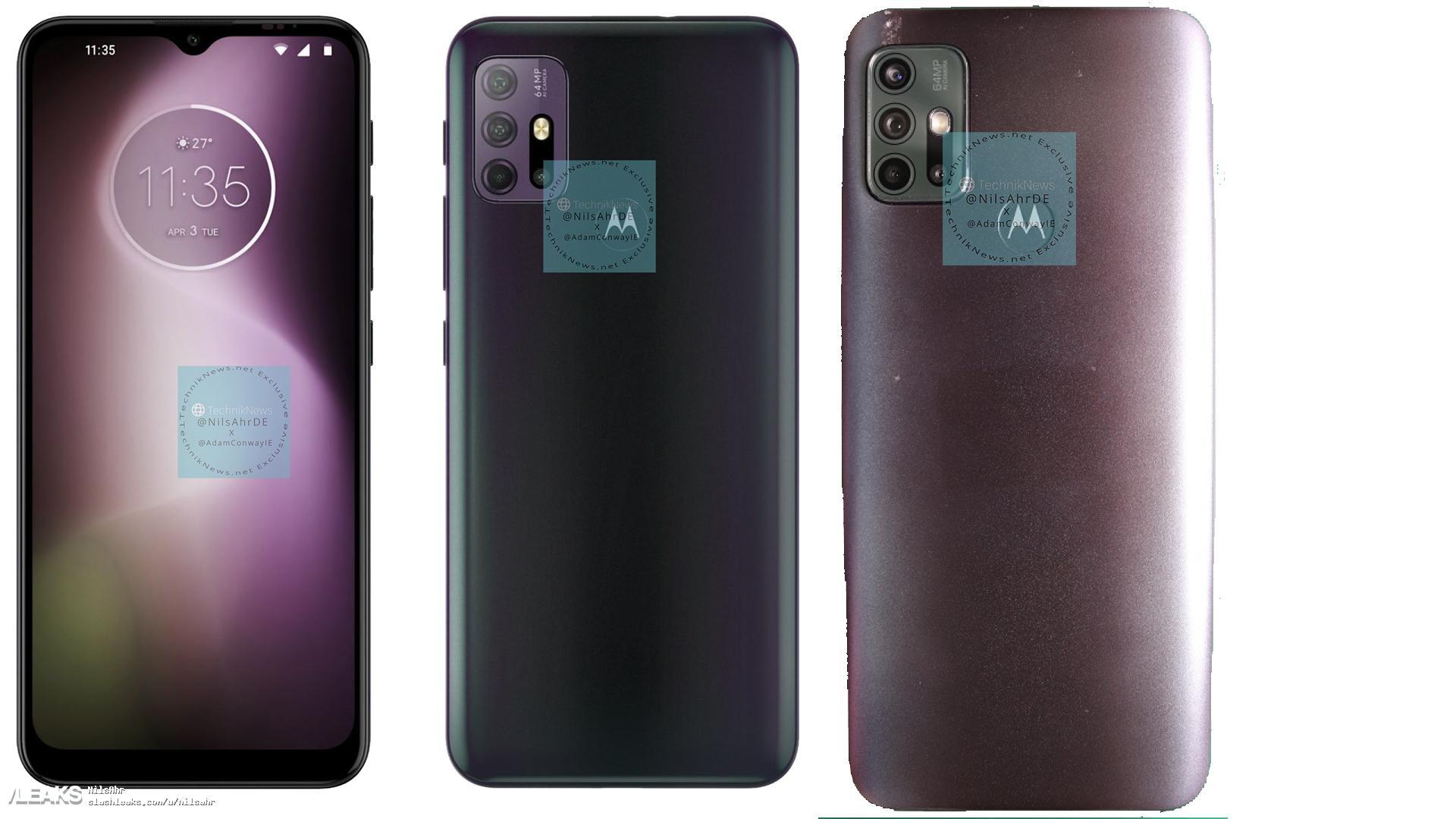 img Motorola G30 Render and Live Pic