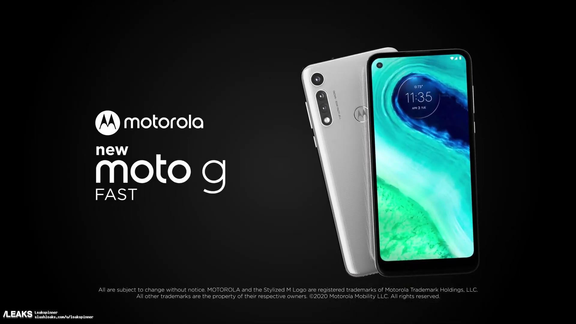 img Motorola Moto G Fast promo video leaks out