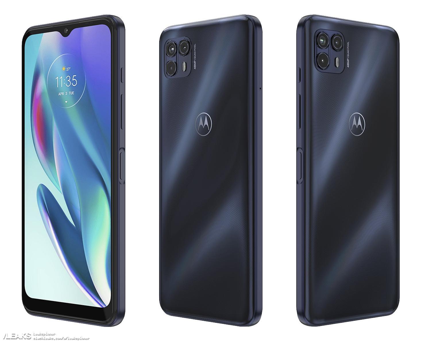 img Motorola Moto G50 5G (Saipan) key specs leaked by @Onleaks