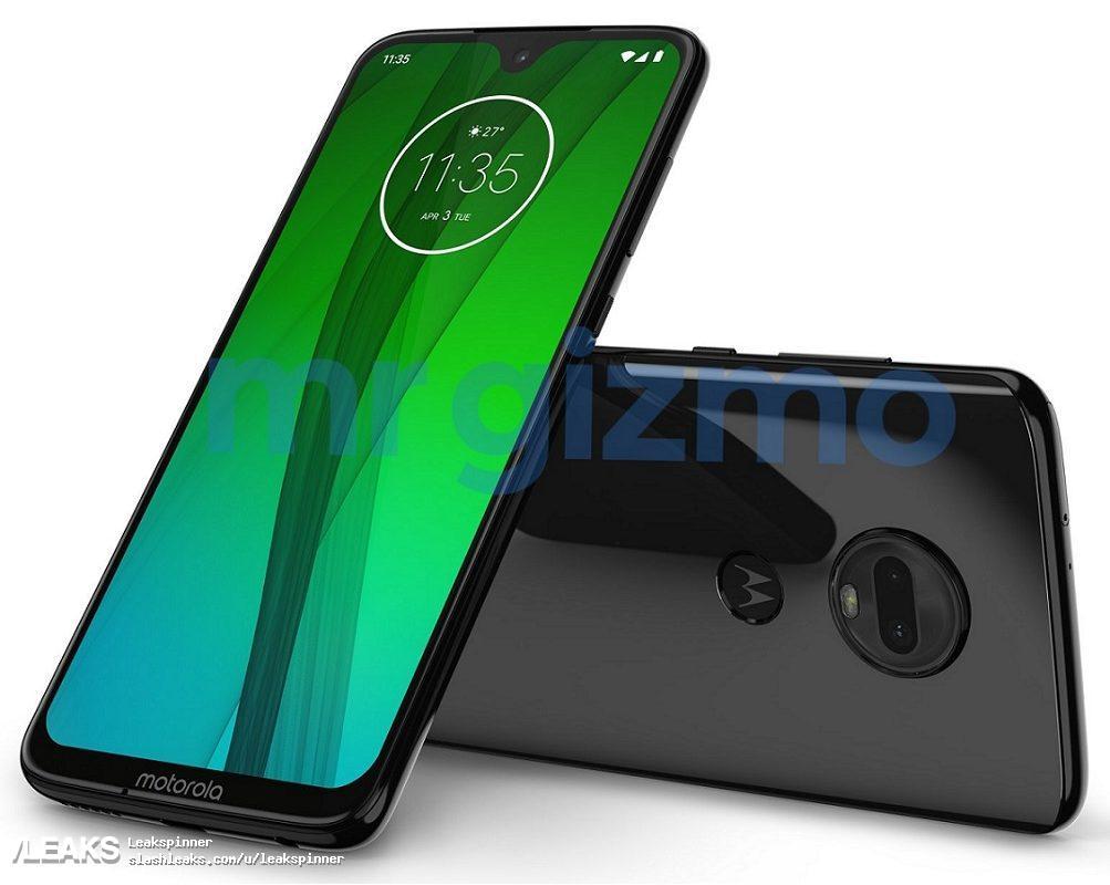img Motorola Moto G7 press render leaks out