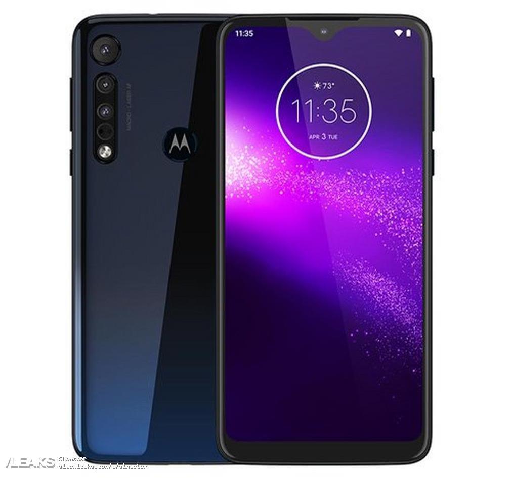 img Motorola One Macro Official Render + price + specs