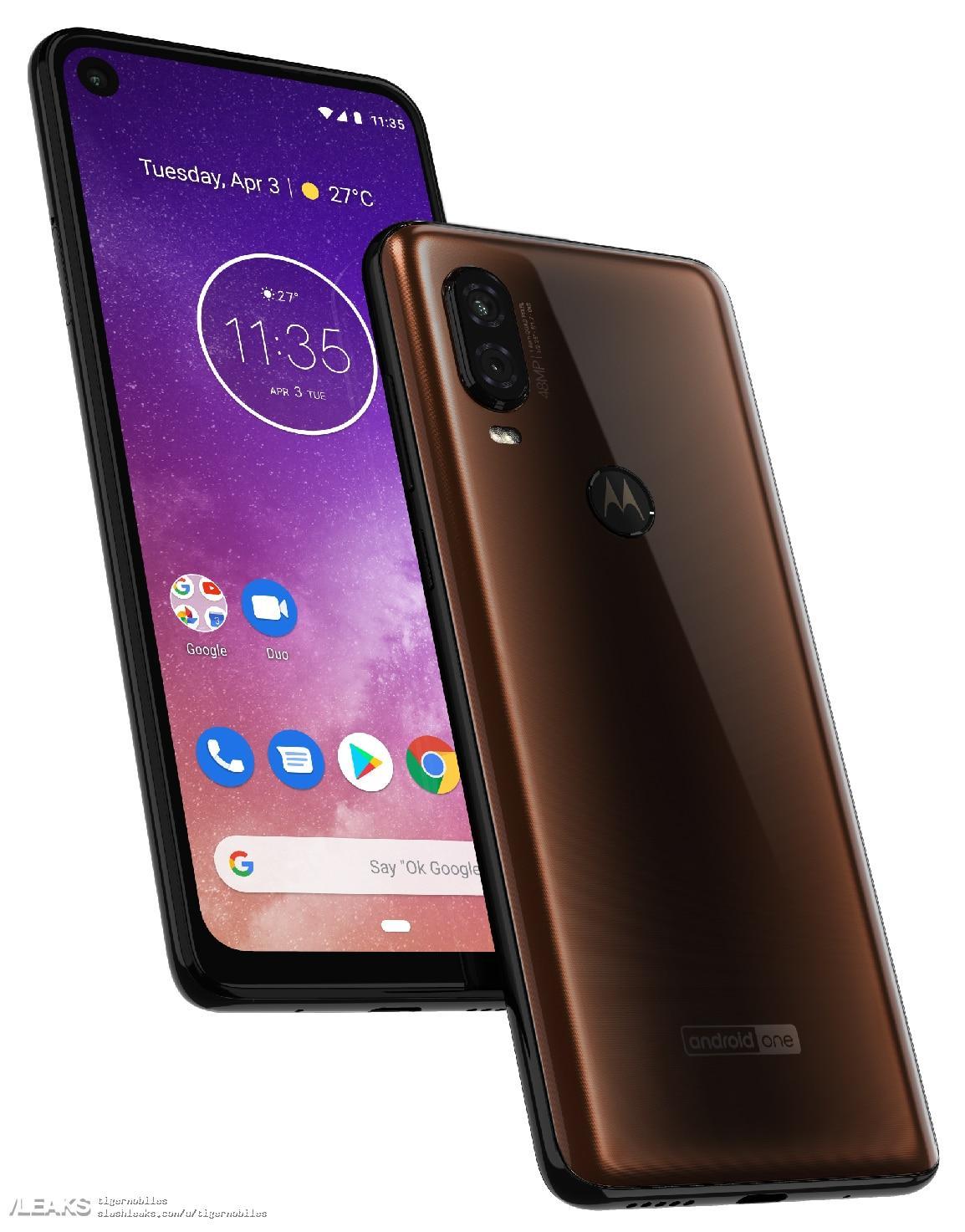 img Motorola One Vision Render
