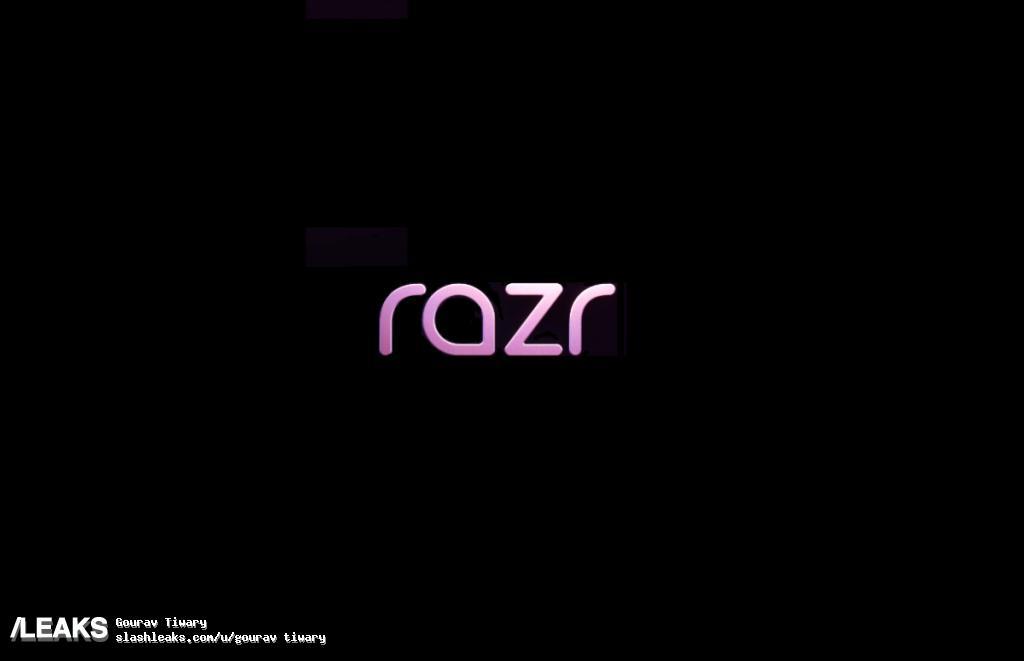 img Motorola Razr Logo with Few Specs