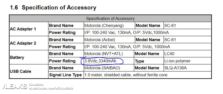 img motorola xt2052-1 has 3340mah battery leaks in fcc [UPDATED: Moto E (2020)]