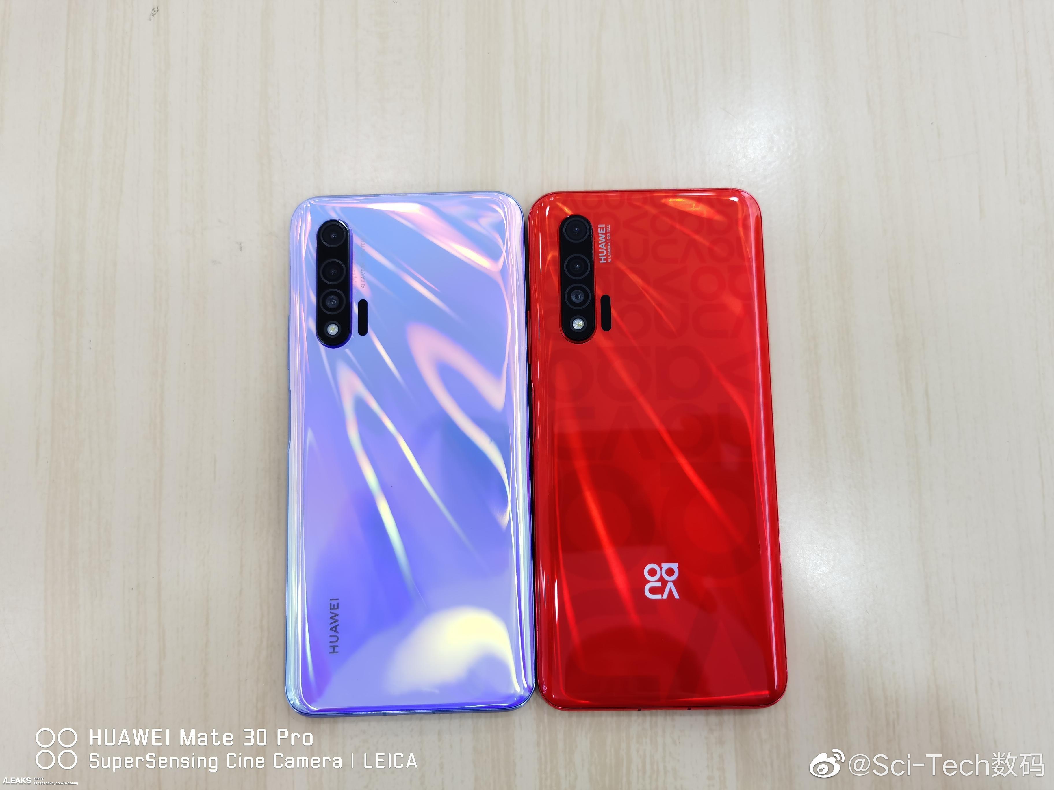 img Nova 6/Nova 6 5G in Honey Red and Provence colors