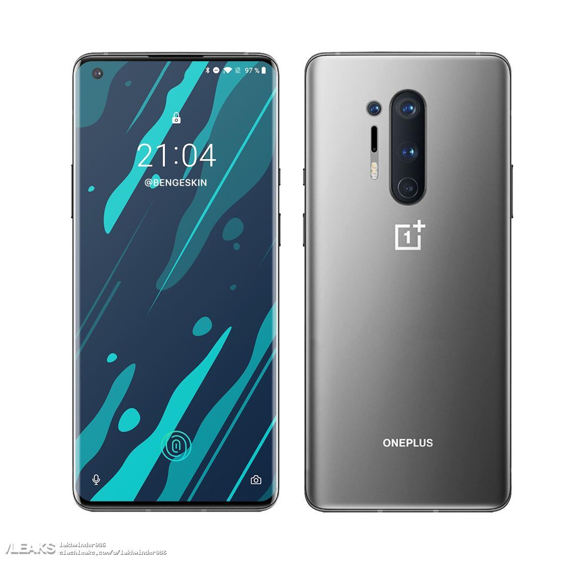 img OnePlus 8Pro Render grey colour