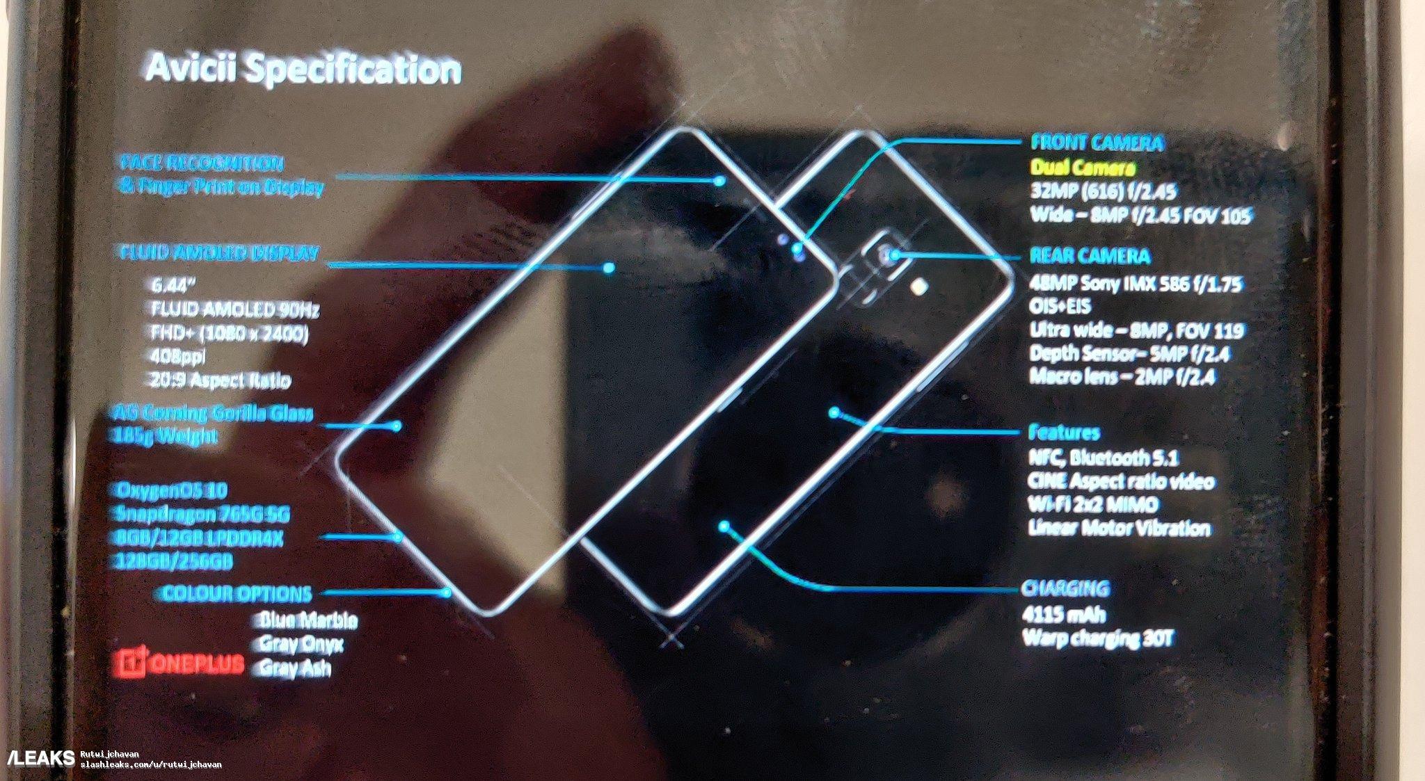 img OnePlus nord specs