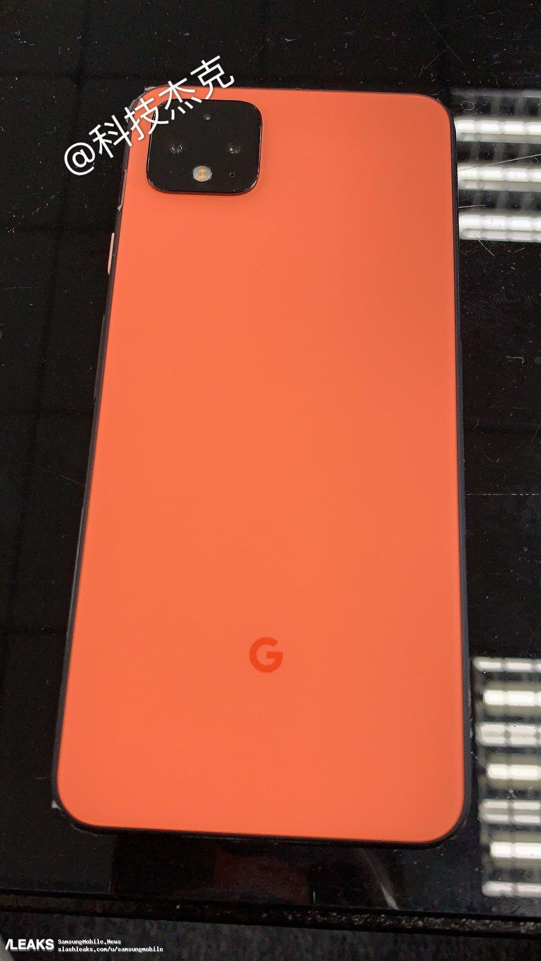 img Pixel 4 in orange leaked again