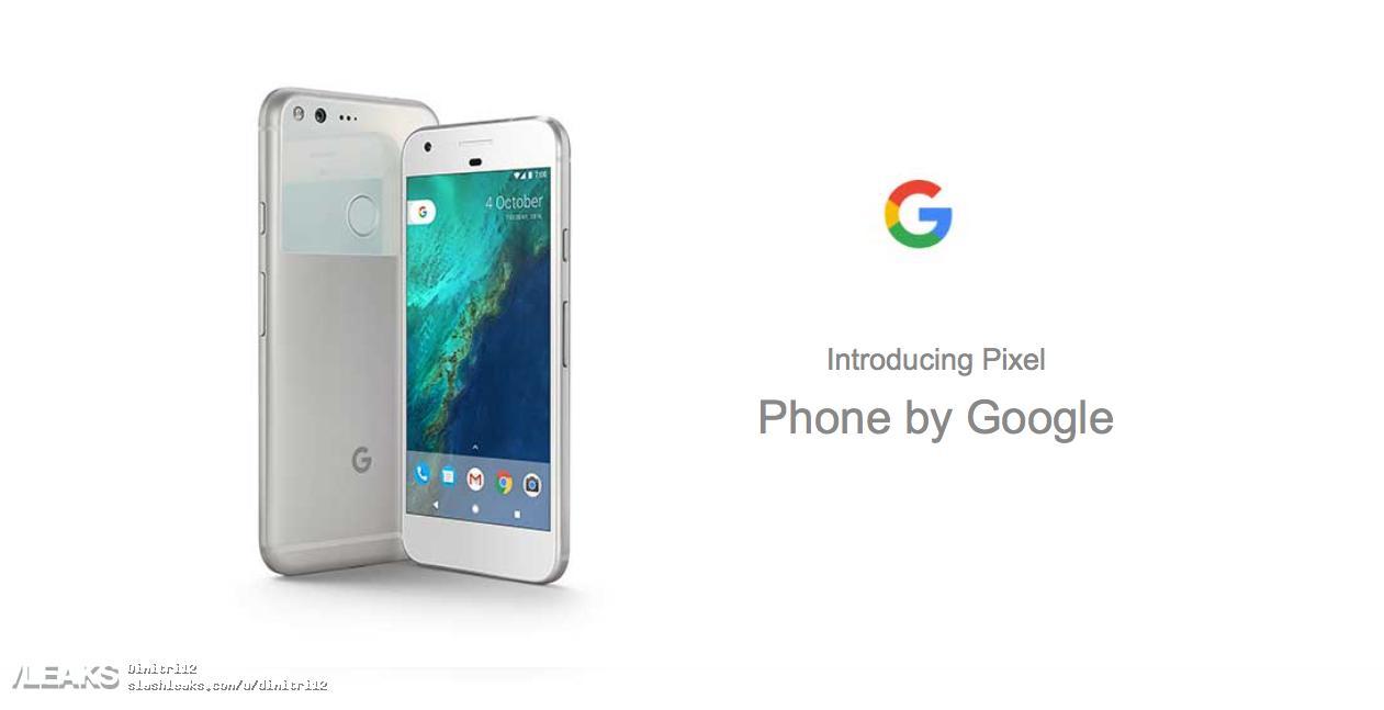 img Carphone Warehouse also reveals Google Pixel XL specs and renders!