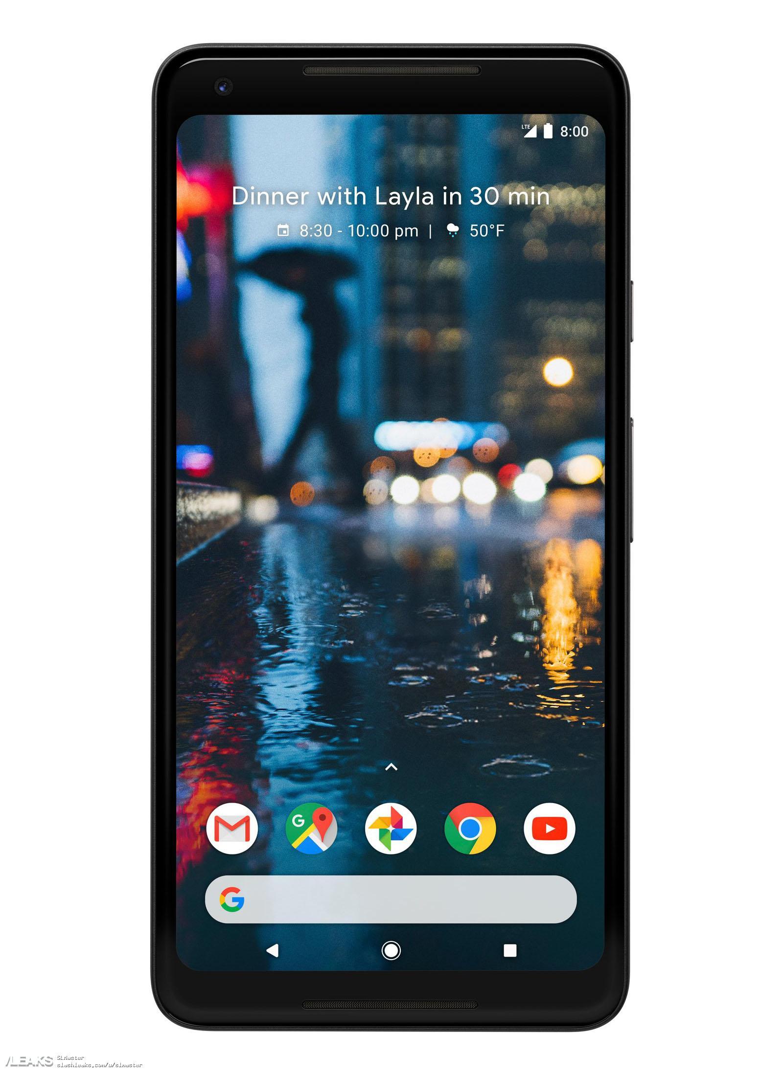 img Google Pixel 2 XL leaked by Evan Blass [UPDATED]