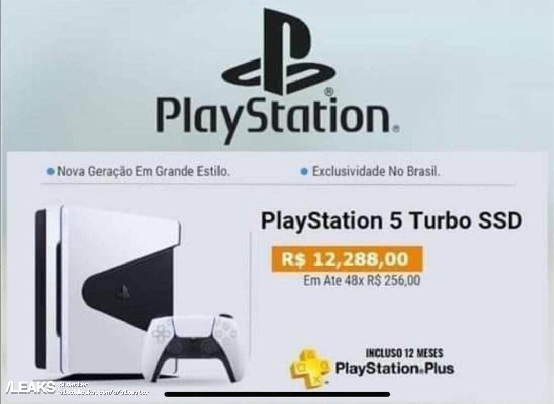 img PS5 design leak in webpage