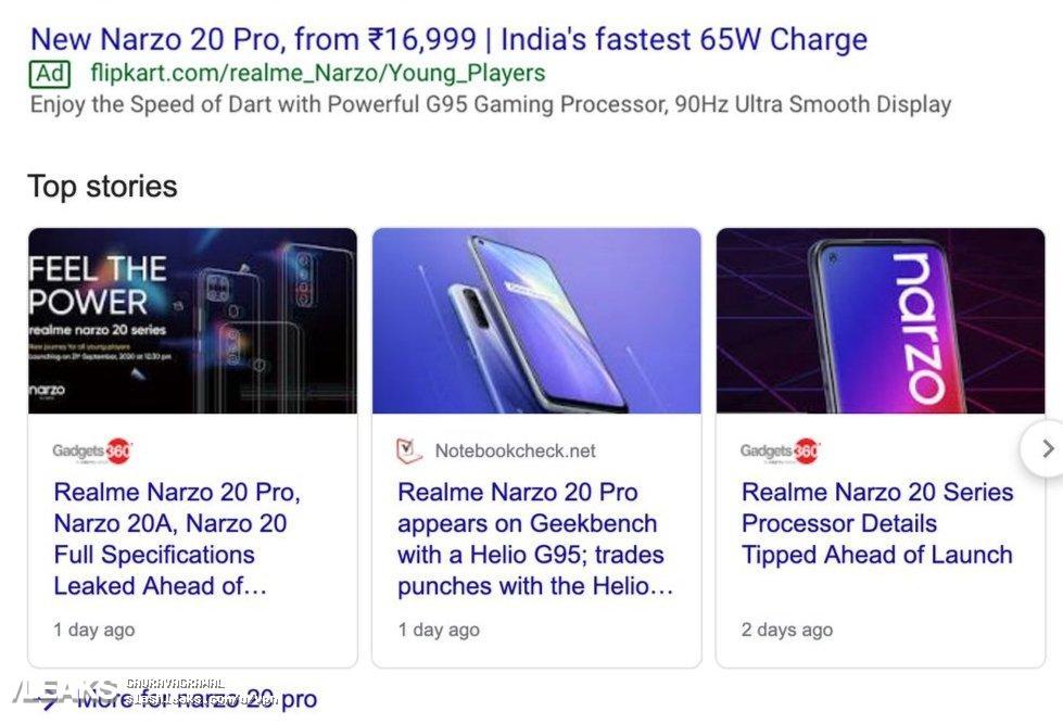 img Realme Narzo 20 Pro Price And Specs