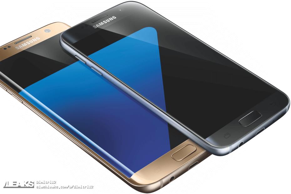 img evleaks reveals Galaxy S7 and S7 edge press renders