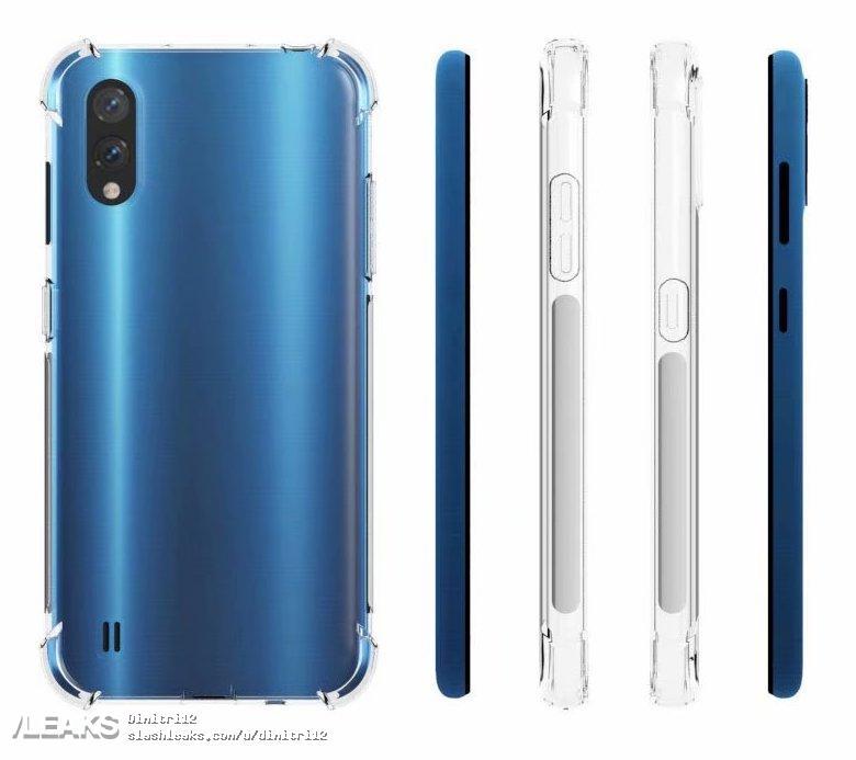 Samsung Galaxy A01 Rendered By Case Maker SLASHLEAKS