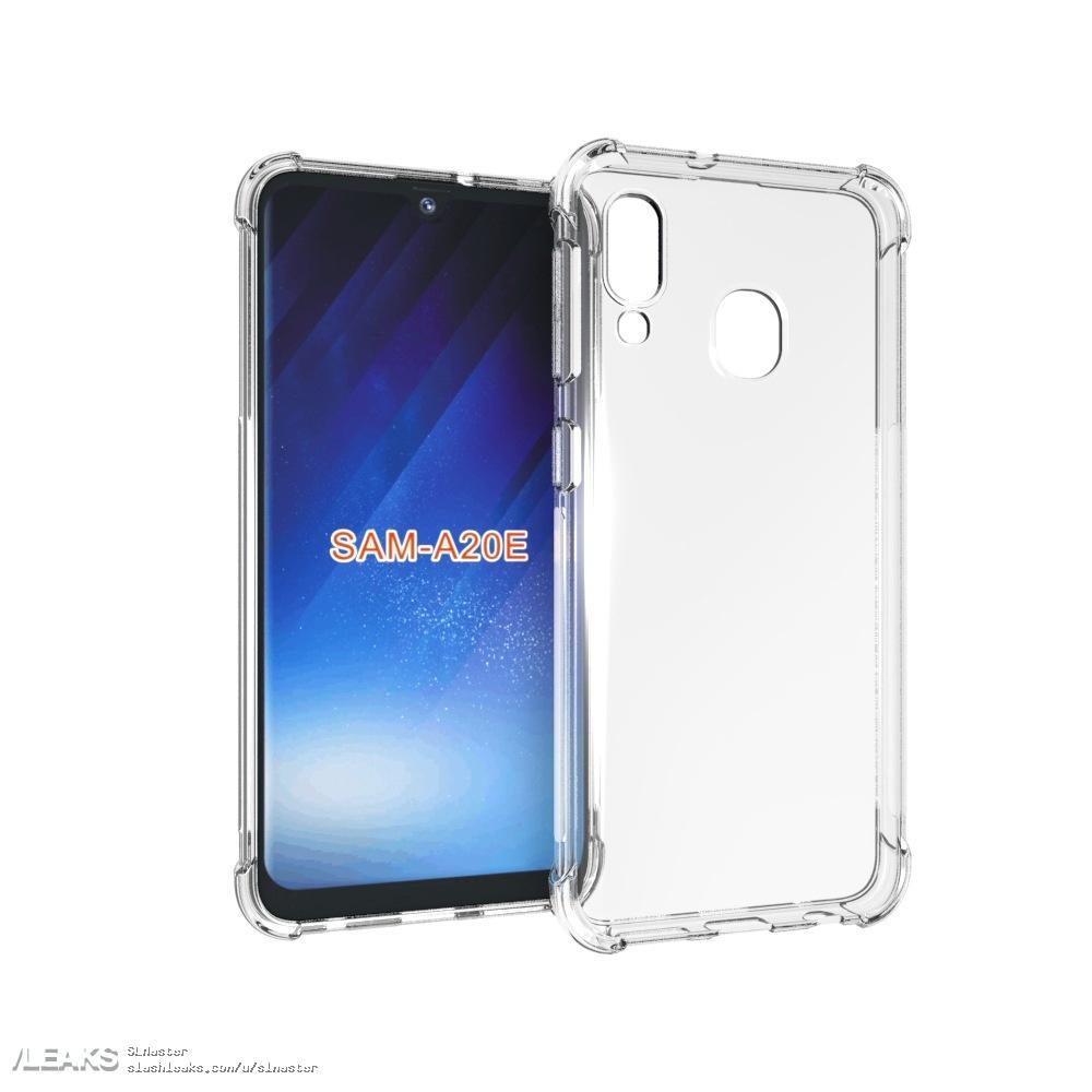 img Samsung galaxy a20e case renders