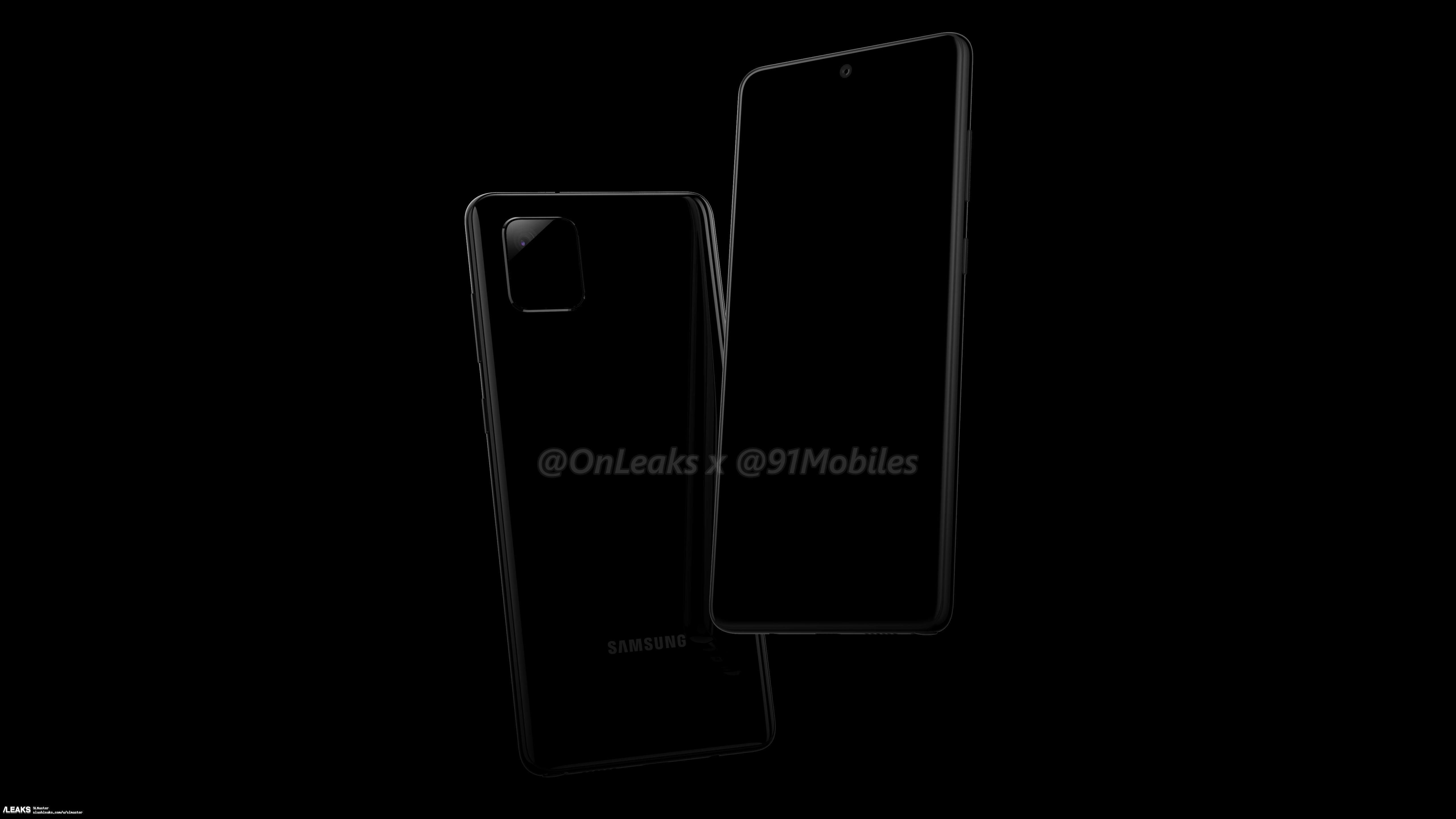 img Samsung Galaxy Note 10 Lite or Galaxy A81 Renders Leaked Via OnLeaks
