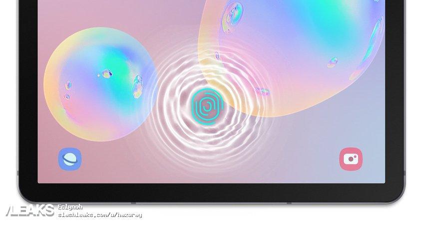 img Samsung Galaxy Tab 6 with in-display fingerprint sensor