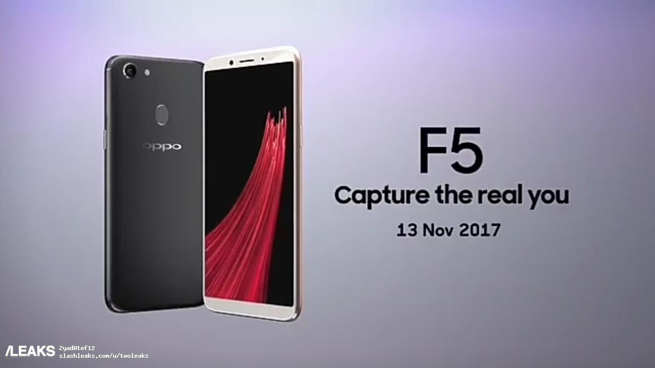 Oppo F5 disponibilità