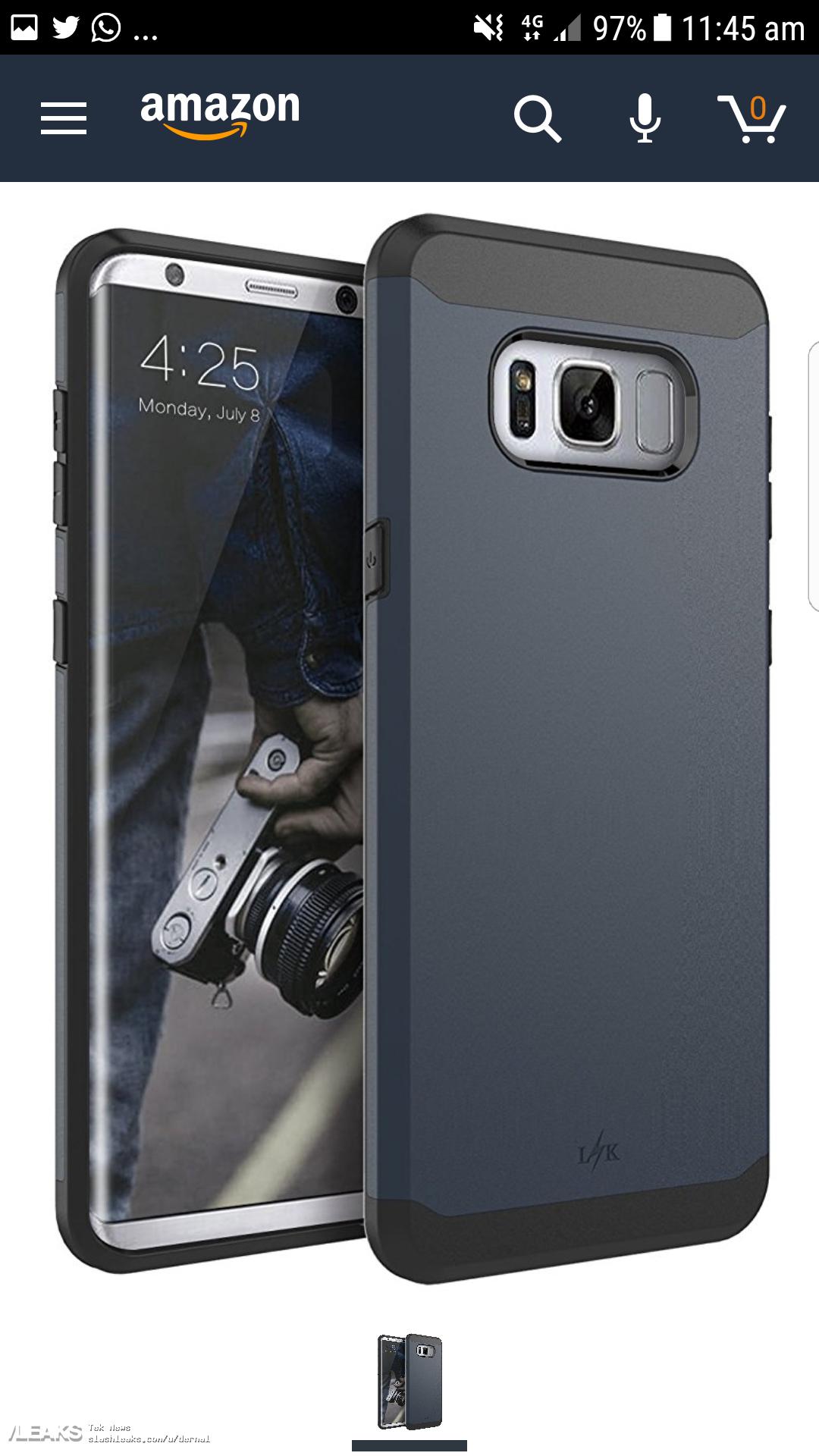 img Galaxy S8 Plus Case Renders