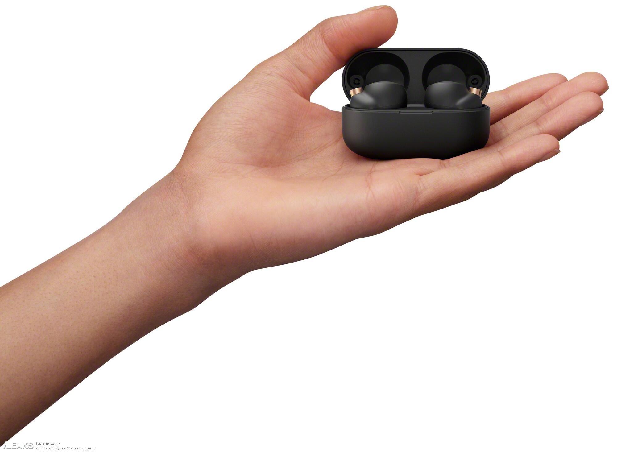 img Sony WF-1000XM4 earphones press renders leaked