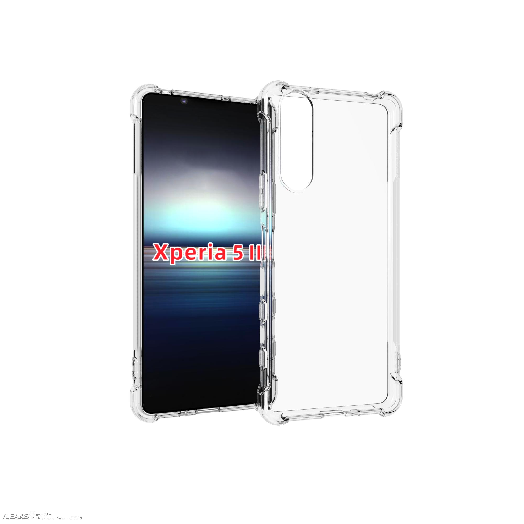 img Sony Xperia 5 II Case Leaks
