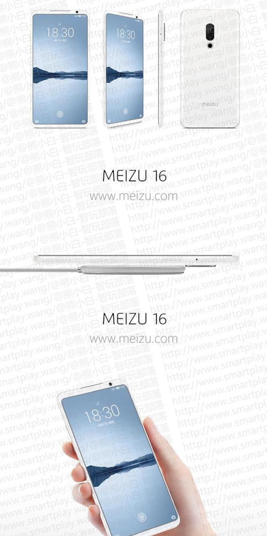 img Meizu 16 poster leak