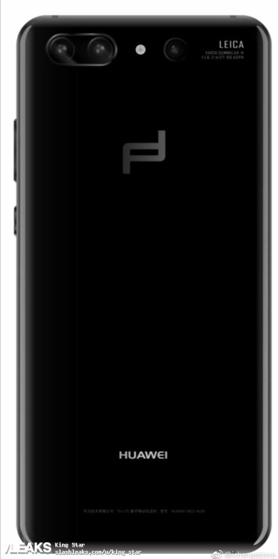 img Huawei P20 Porsche Design backside render