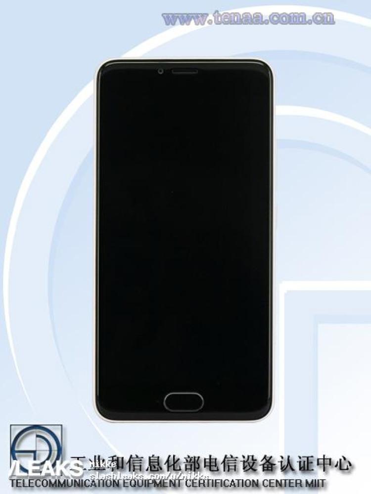 img Meizu M5 pics + specs (TENAA)