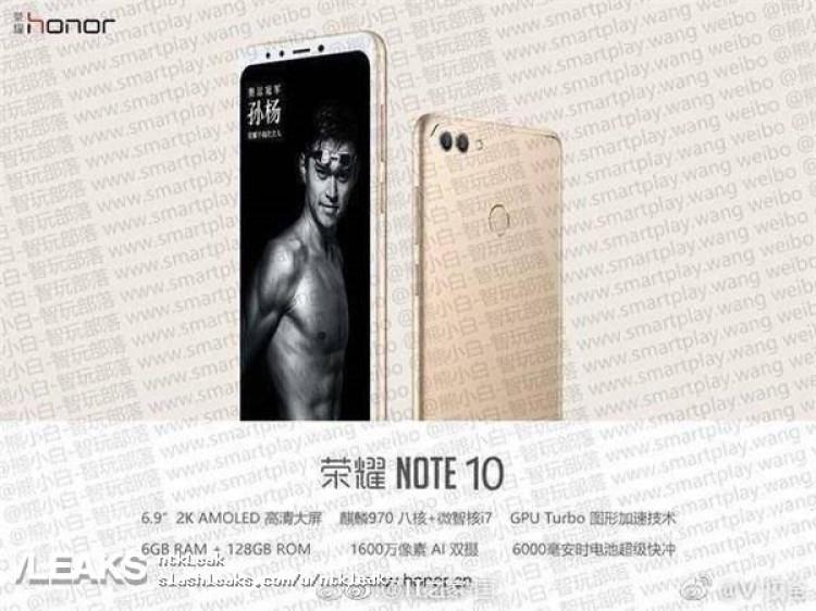 img Honor Note 10 leak