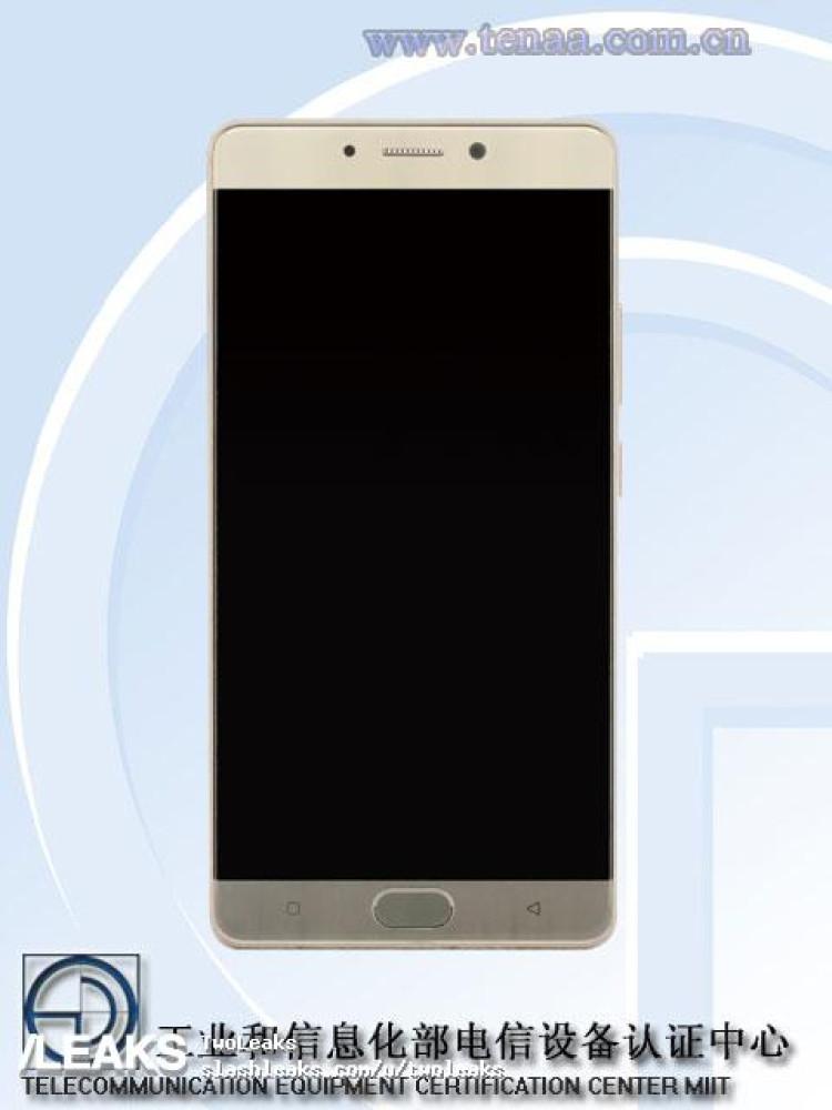 img Gionee M6S Plus pics + specs (TENAA)