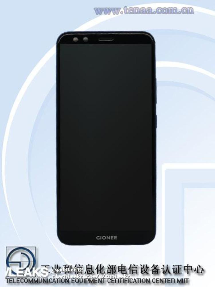 img Gionee S11S pics + specs (TENAA)