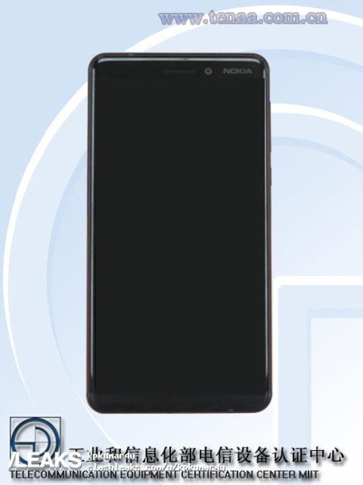 img Possible Nokia 6 2018 (TA-1054) pics via TENAA