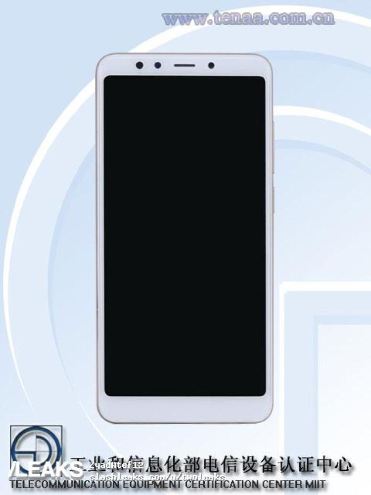 img Xiaomi Redmi 5 pics + specs (TENAA)
