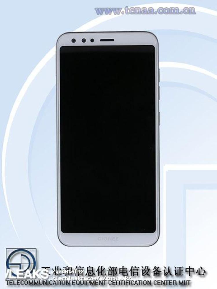 img Gionee S11 pics + specs (TENAA)