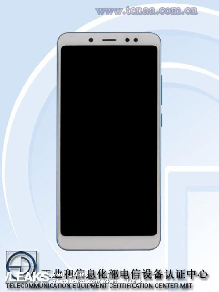 img Blue Xiaomi Redmi Note 5 Pro in TENAA