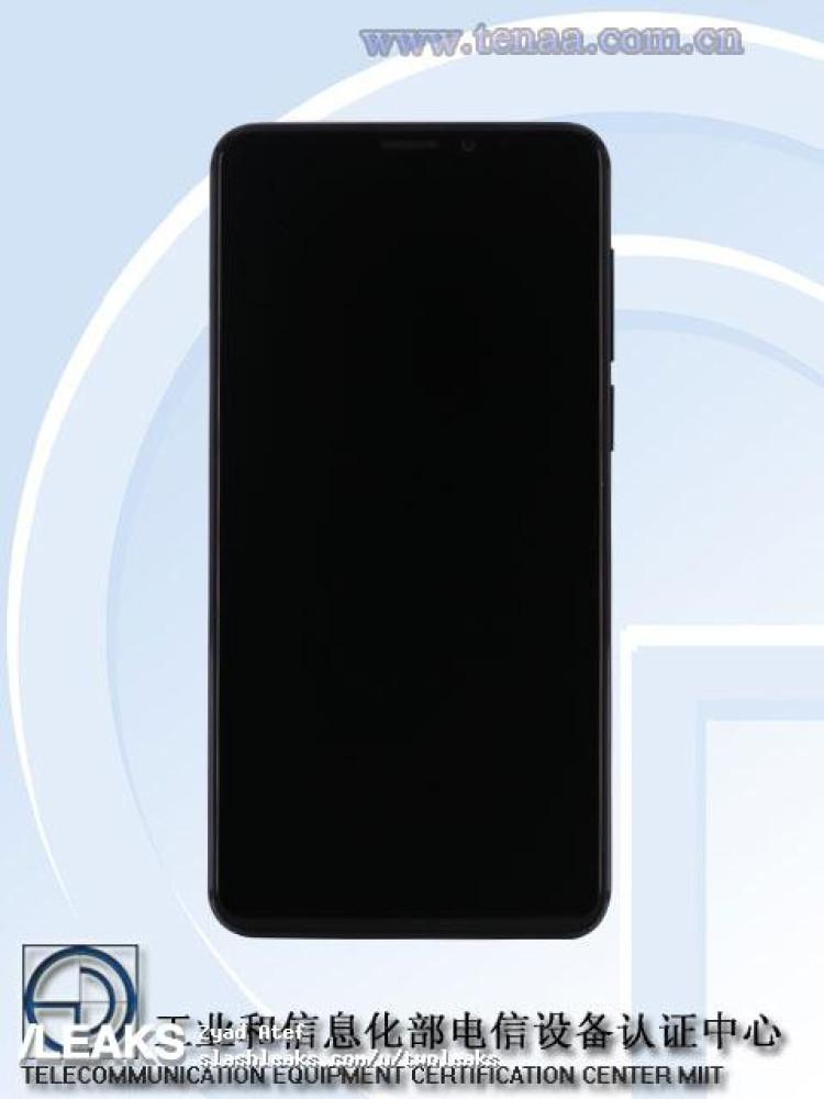 img Meizu M8 pics + specs (TENAA)