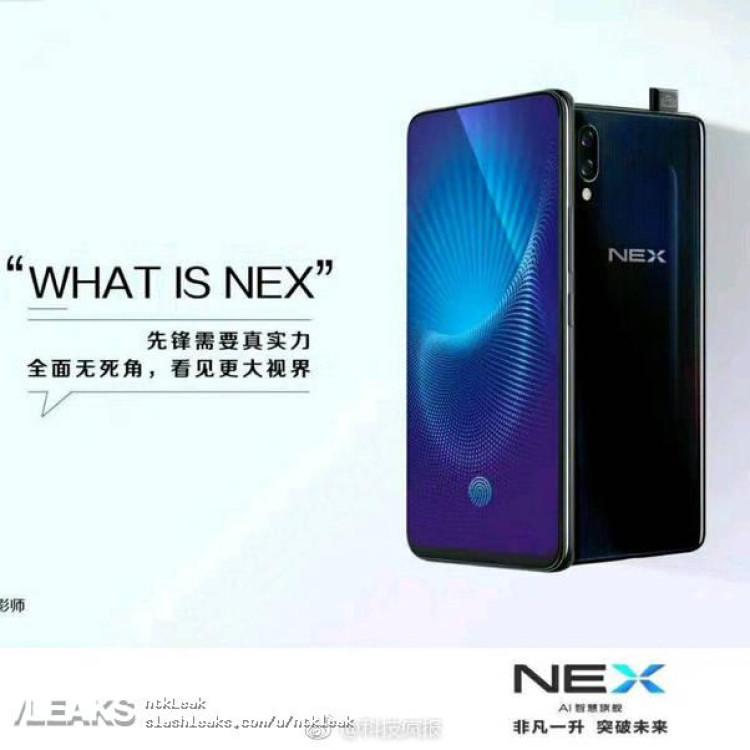 img Vivo Nex Snapdragon 845 Version Poster And Spec Leak