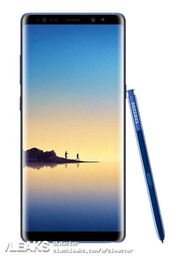 img Deep Sea Blue Note 8 Render (@evleaks)