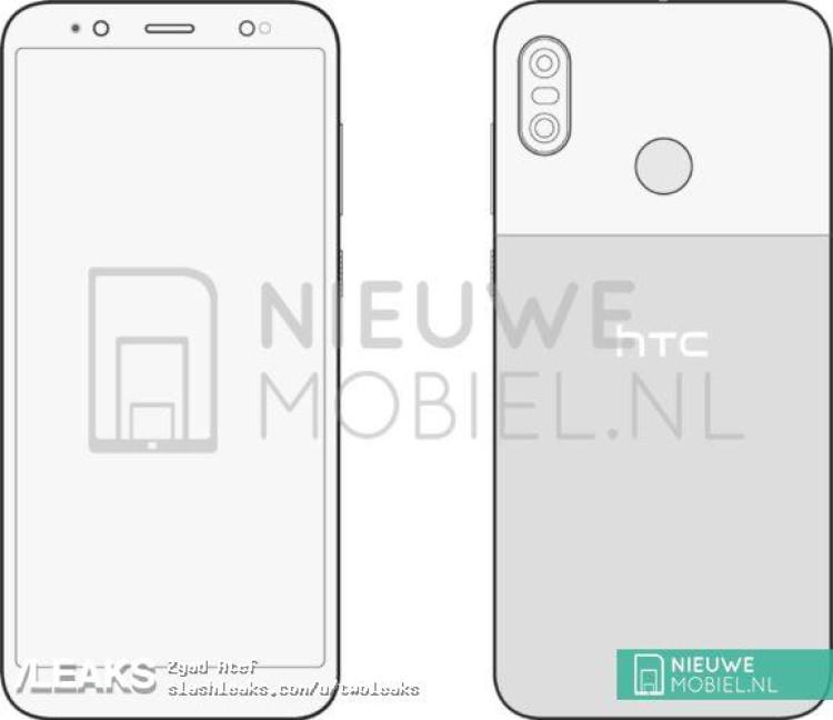 img HTC U12 Life schematics leaked