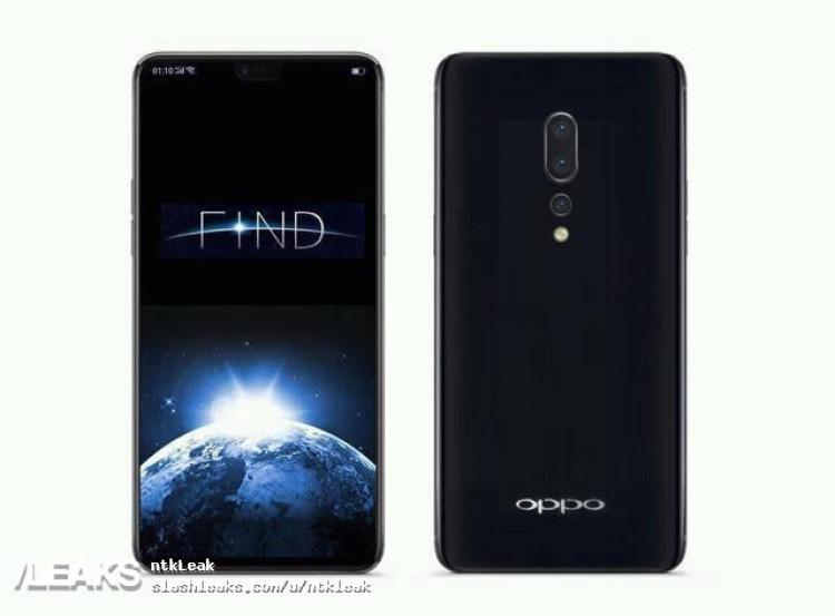 img Frist Oppo Find X Flagship Render leaked