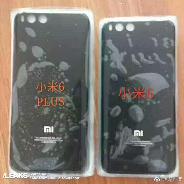img Alleged Xiaomi Mi 6 Plus rear panel leaks out [UPDATED: Mi Note 3]