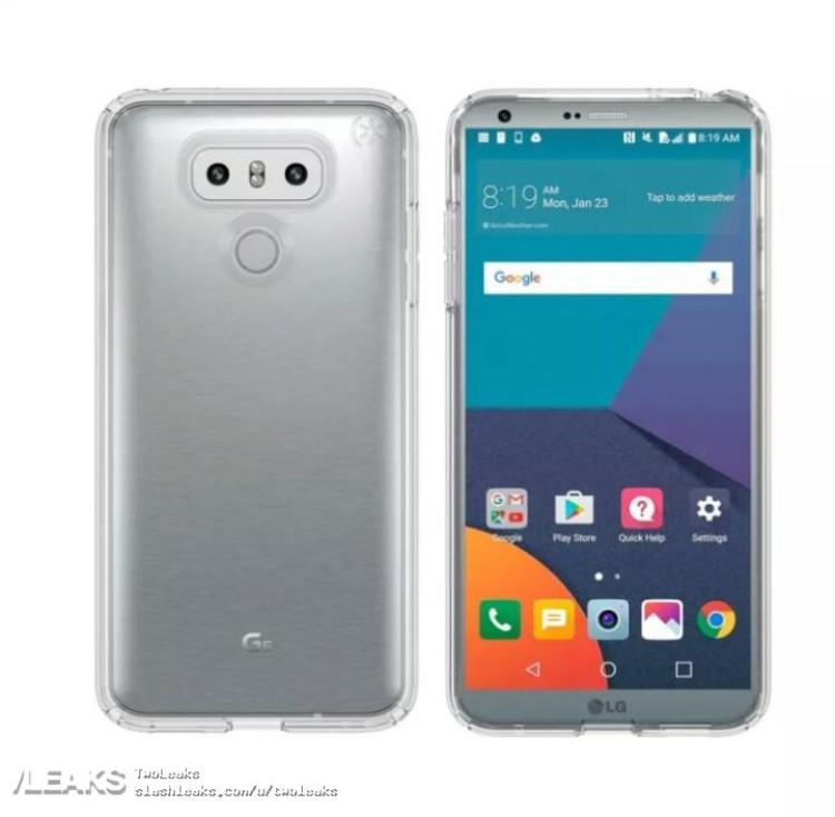 img LG G6 case render