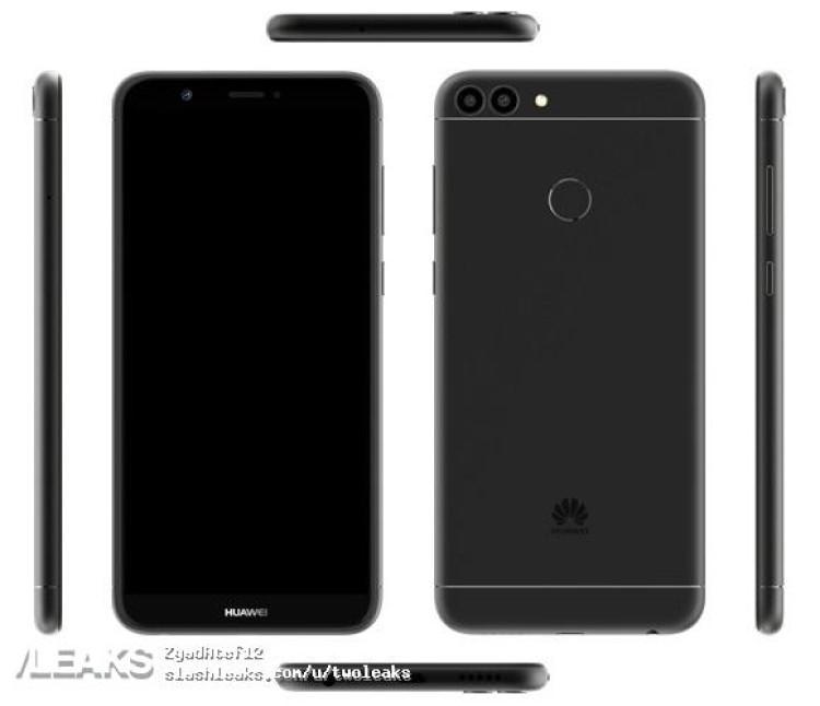 img Huawei Enjoy 7S press render + specs + price
