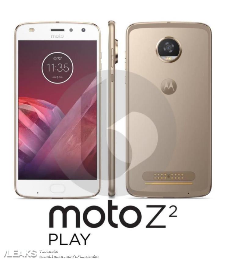 img Moto Z2 Play press renders leaked